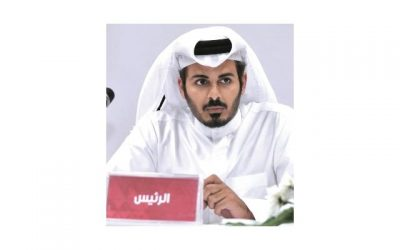 الشيخ خليفة بن حمد رئيس نادي الدحيل