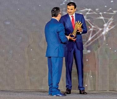 الأمير تميم يكرم الفائزين بجائزة سموه الدولية لمكافحة الفساد