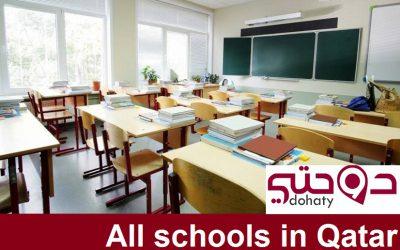 دليل المدارس الموجودة داخل دولة قطر